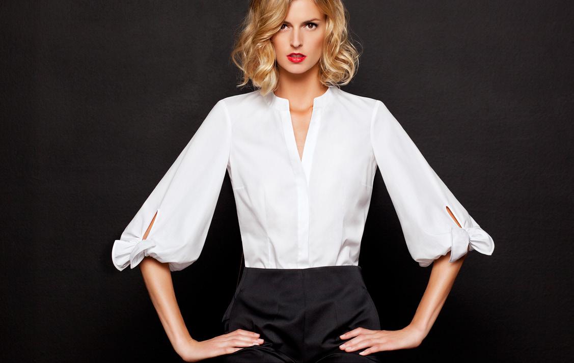 A camisa branca teve sua origem no século XIX 7c1fd0f5964