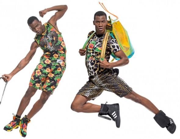 784ae4356 Mais uma parceria entre a Adidas e Jeremy Scott.. a nova coleçao  Primavera-Verão 2014 da marca vem repleta de peças