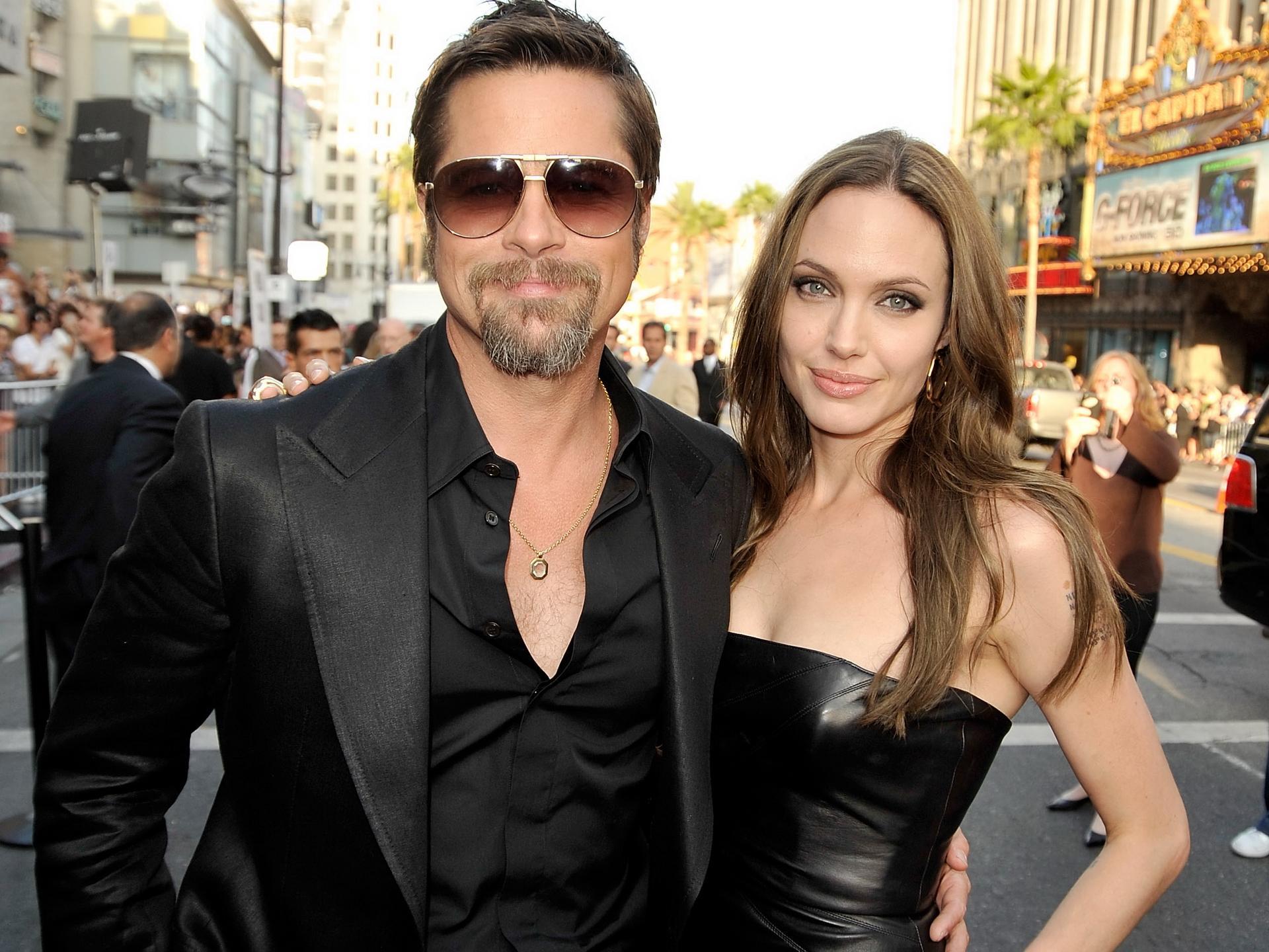 ANGELINA JOLIE E BRAD ... Angelina Jolie Brad Pitt