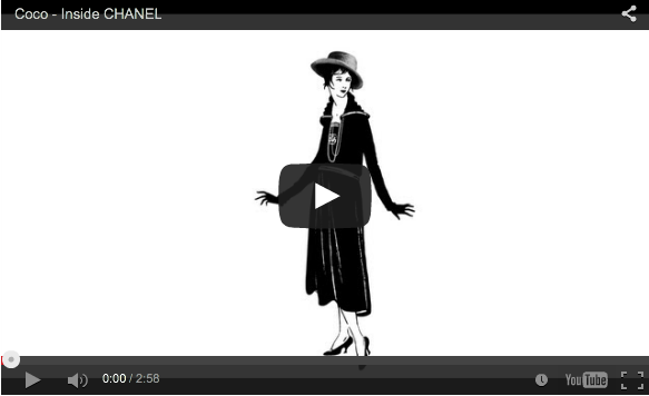 Há muito glamour em torno da história de Chanel ae58befb53b