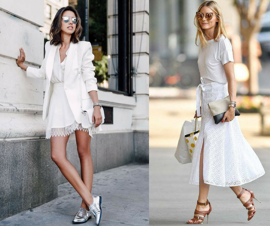All White Look imagem - via pinterest