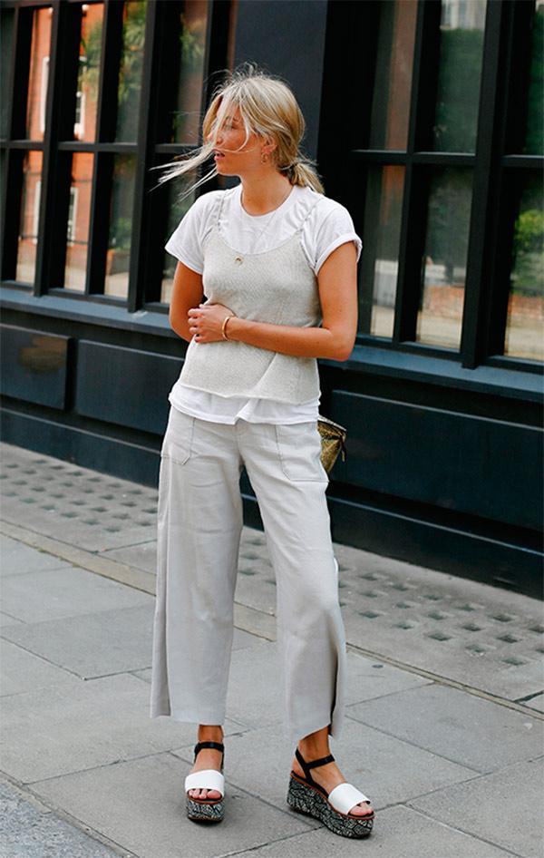 street-style-look-sandlia-tratorada-regata-sobreposicao-camiseta-calca-culotte