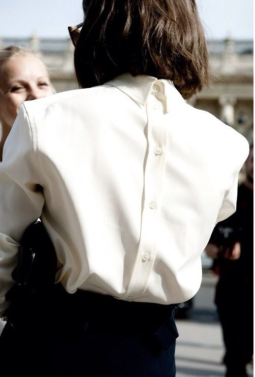 Camisa Branca imagem - via pinterest