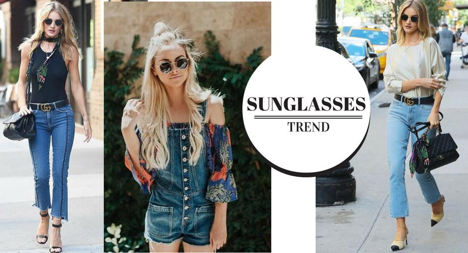 A cada estação as fashion girls adotam um modelo de óculos de sol para  chamarem de seu e entre os que vimos bombar no street style esse verão, a  nova paixão ... a822f40ac0