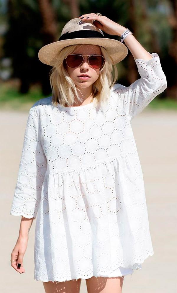 Branco arrasando no verão! imagem via pinterest
