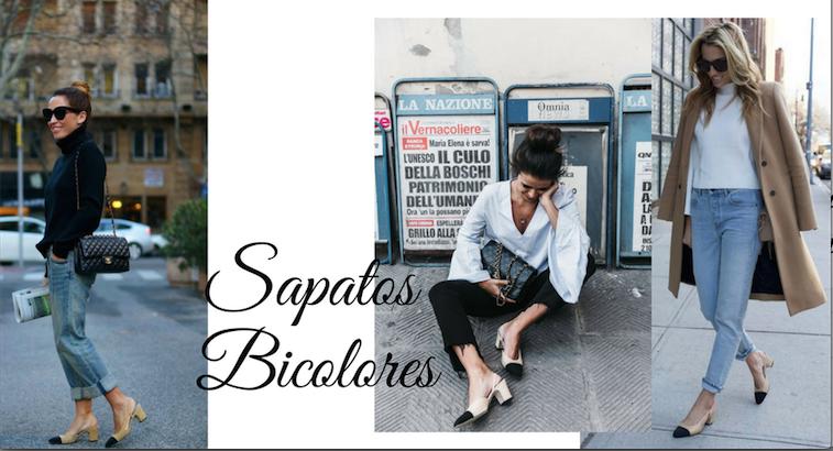 499c247f21 OS SAPATOS SLINGBACKS BICOLORES - MODO DE USAR - BUYER   BRAND