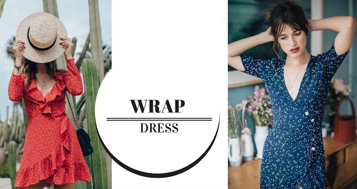 """6a502b82c Mais um item clássico, que foi """"resgatado"""" pelas fashionistas nos últimos  meses e entrou de uma vez por todas, para a lista de vestido da vez – O  Wrap Dress ..."""